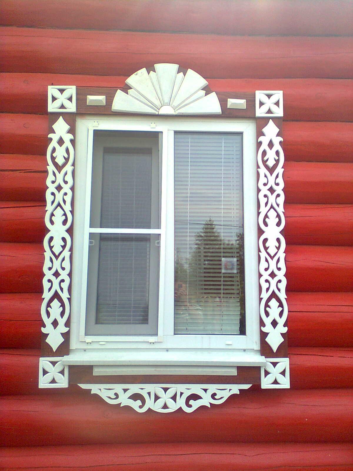 Наличники на двери и окна